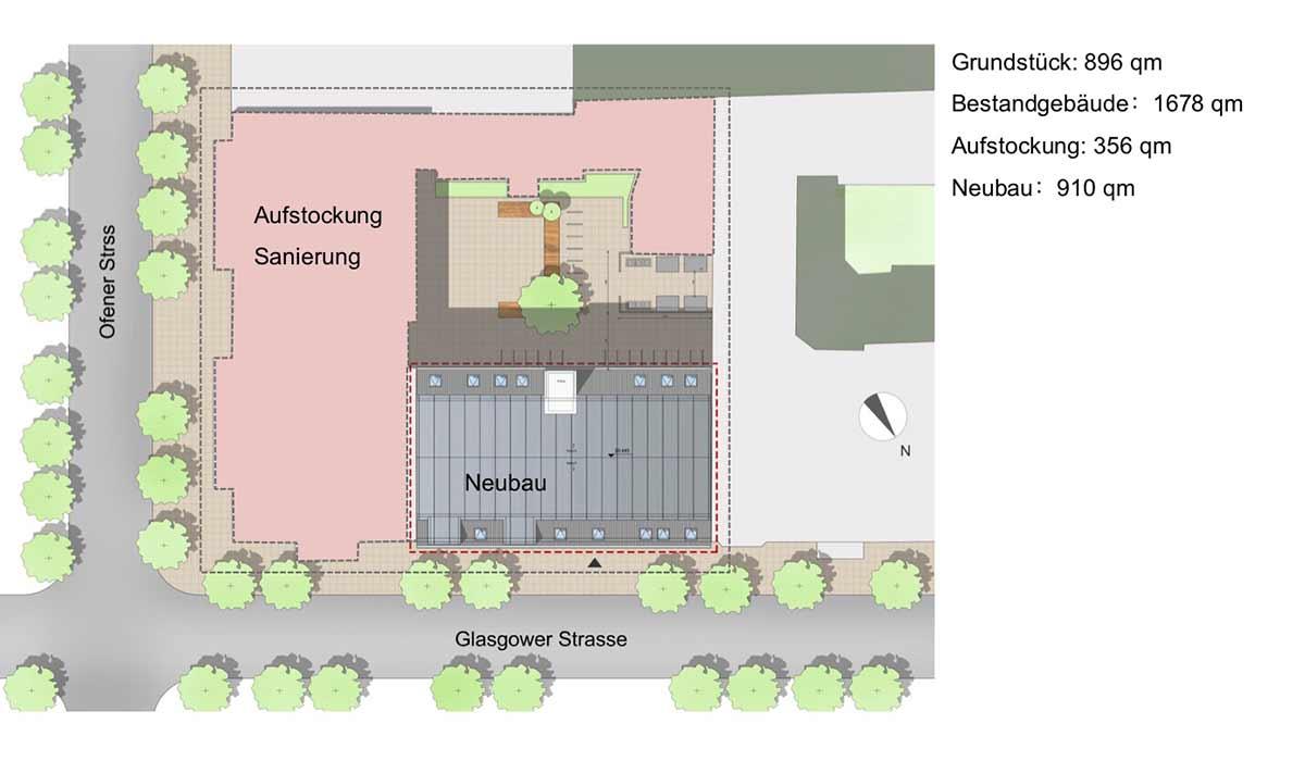 Berlin Wedding Grundriss schematisch